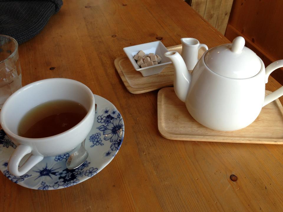 カフェで英会話を習う