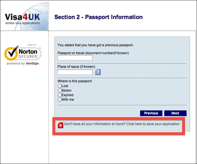申請書作成画面のセーブボタン