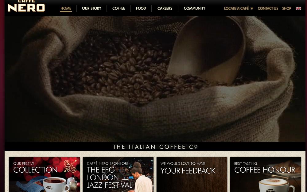 カフェネロ公式サイト