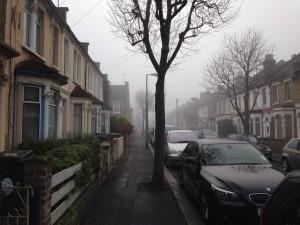 ロンドンの家