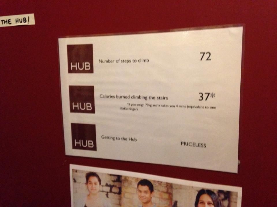 HUB Islingtonの入り口