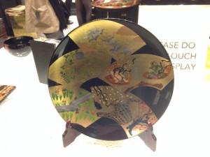 風神雷神のお皿