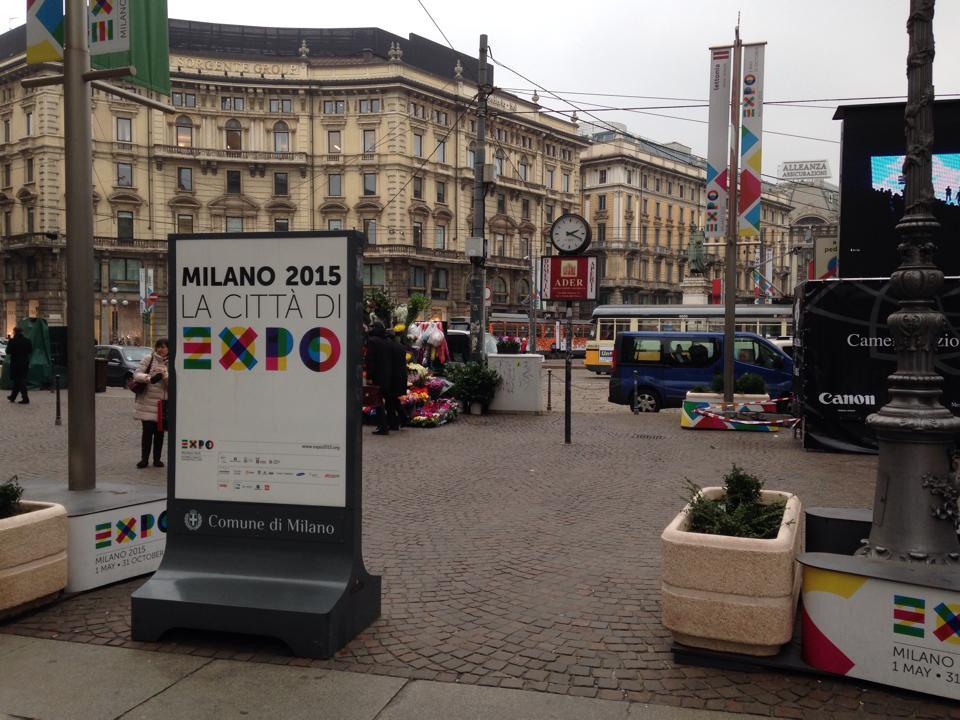ミラノの街の様子