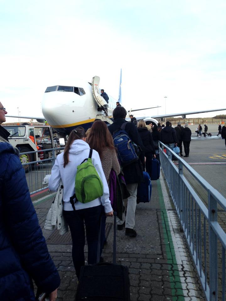 イタリアに行った格安航空「Ryanair」