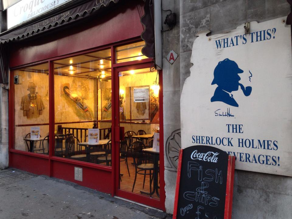 駅近のカフェもホームズさん