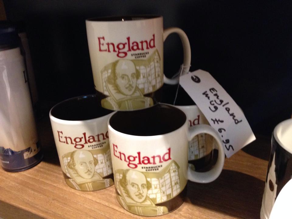 イングランドオリジナルのスタバカップ