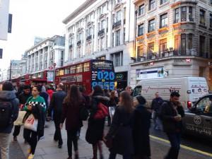 ロンドンのオールドストリート