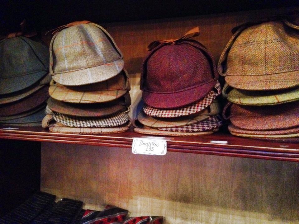 ホームズの帽子
