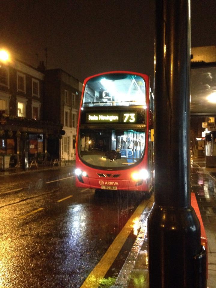 ロンドンのナイトバス