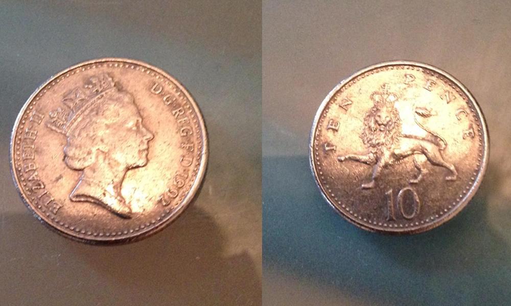 10ペンス硬貨
