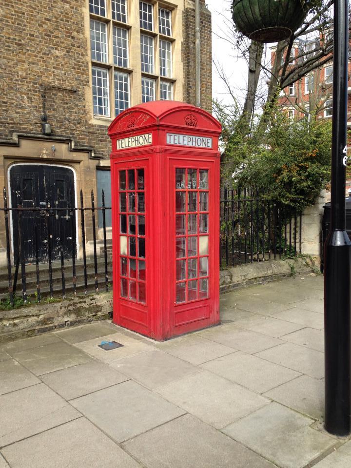ロンドンの電話