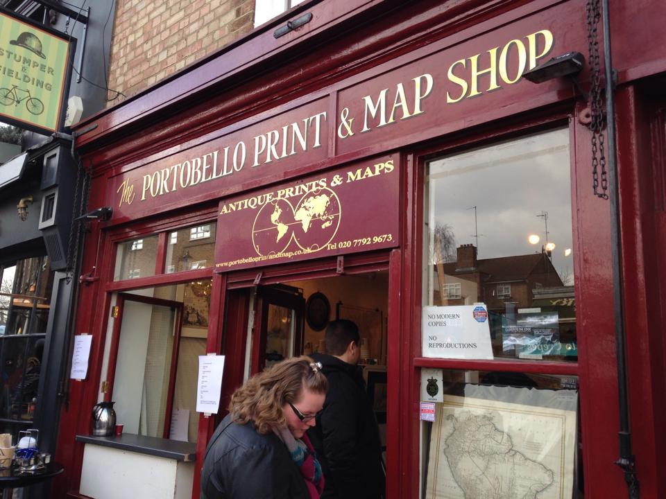 地図専門のお店