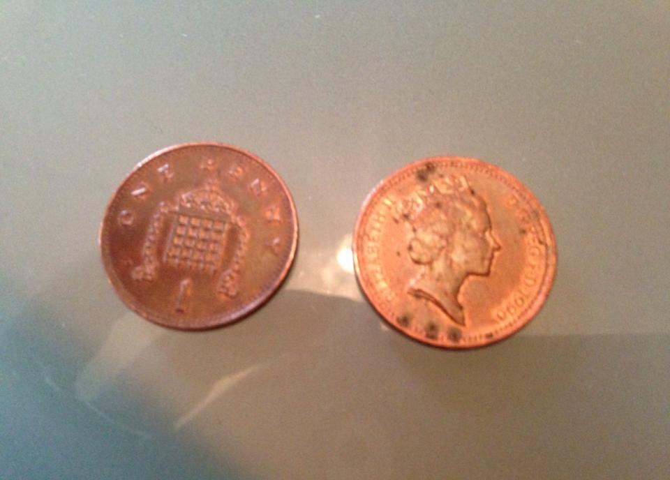 1ペンス硬貨