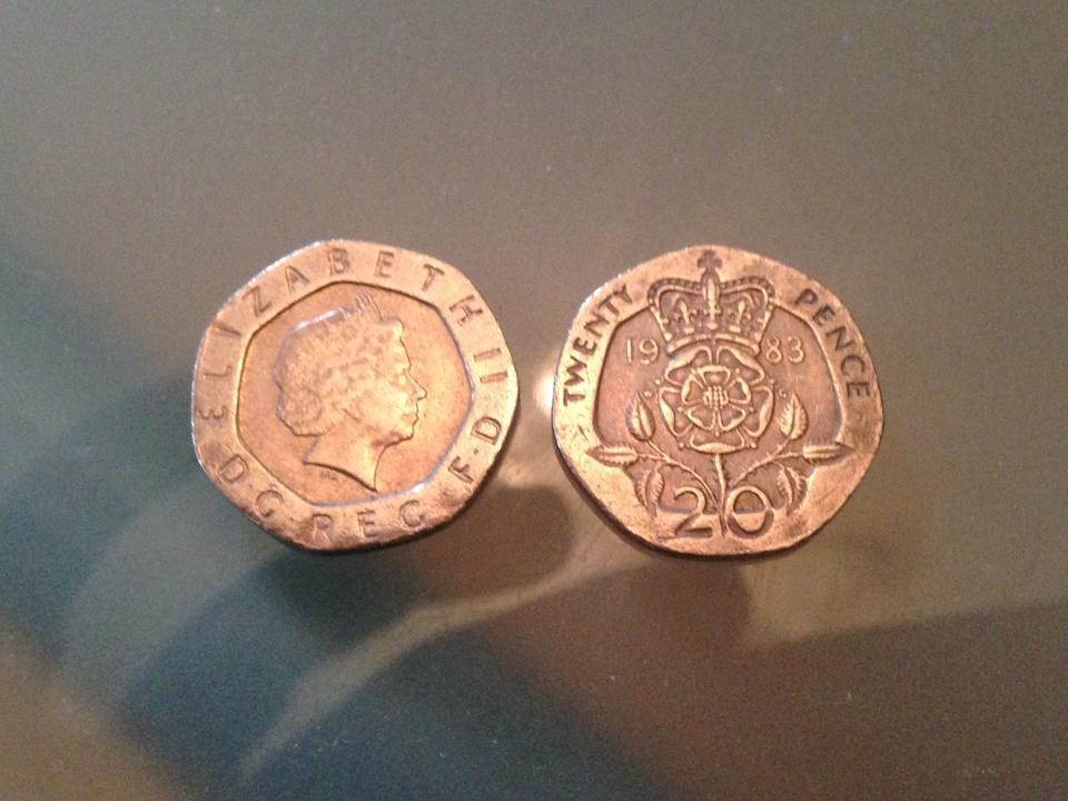 20ペンス硬貨