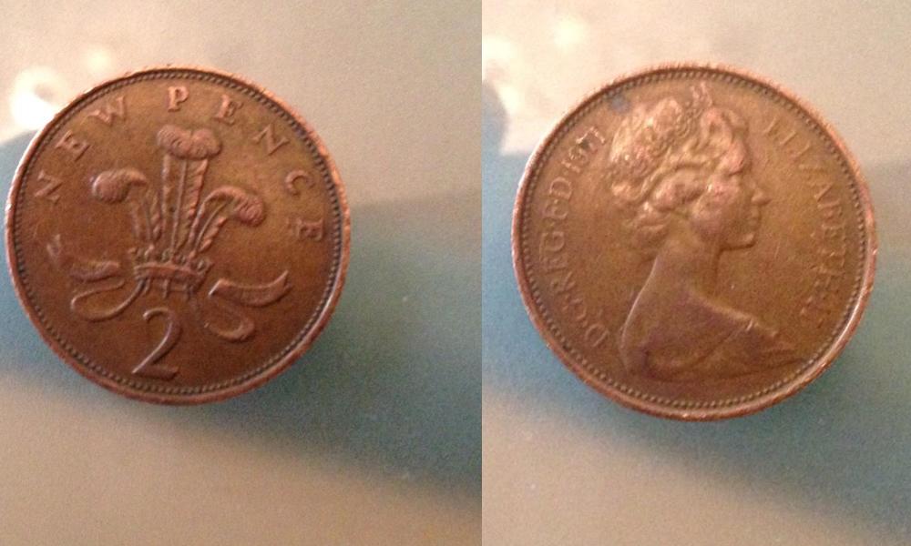 2ペンス硬貨
