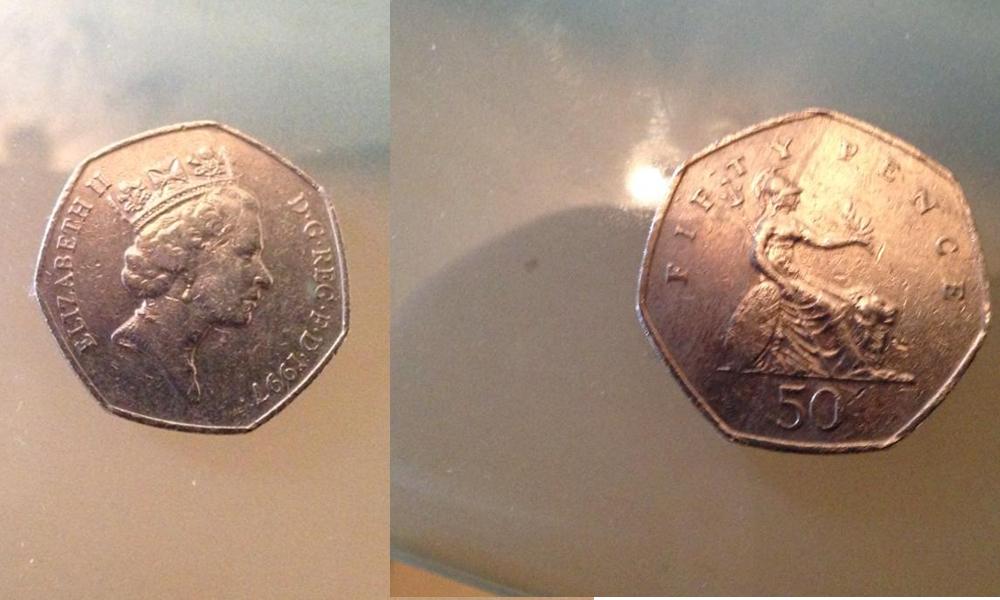 50ペンス硬貨