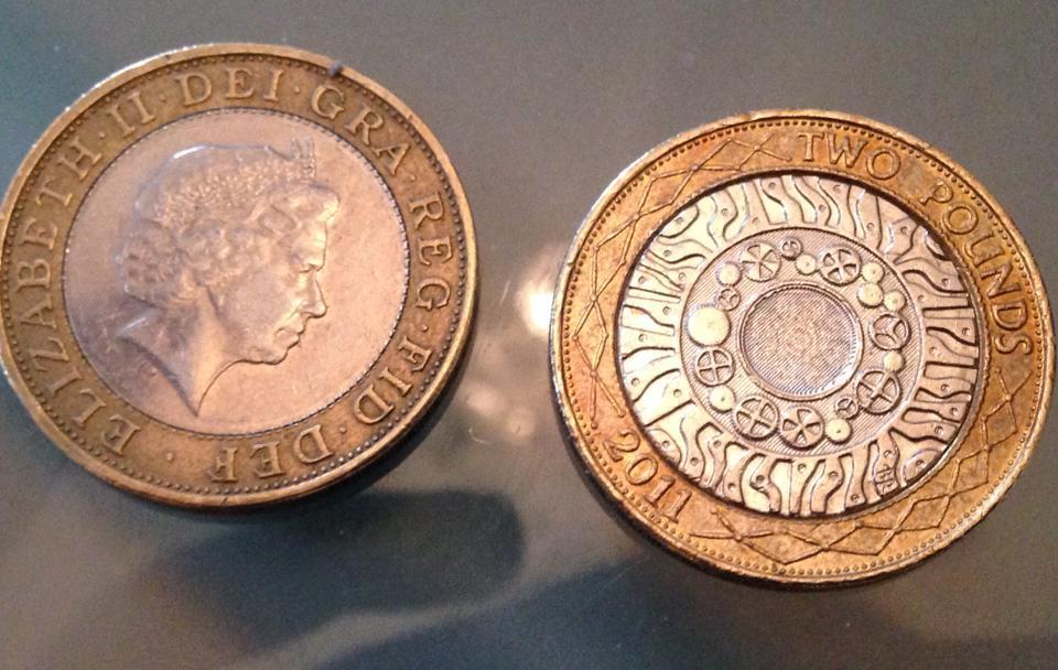 2ポンド硬貨