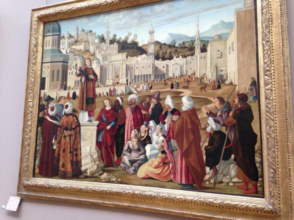 フランスイタリアの絵画が1日で回りきれないほど展示されていました。