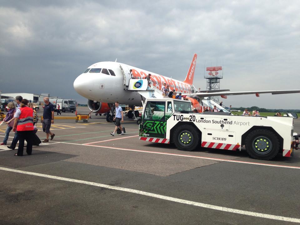 格安航空(LCC)のEasyJetの写真
