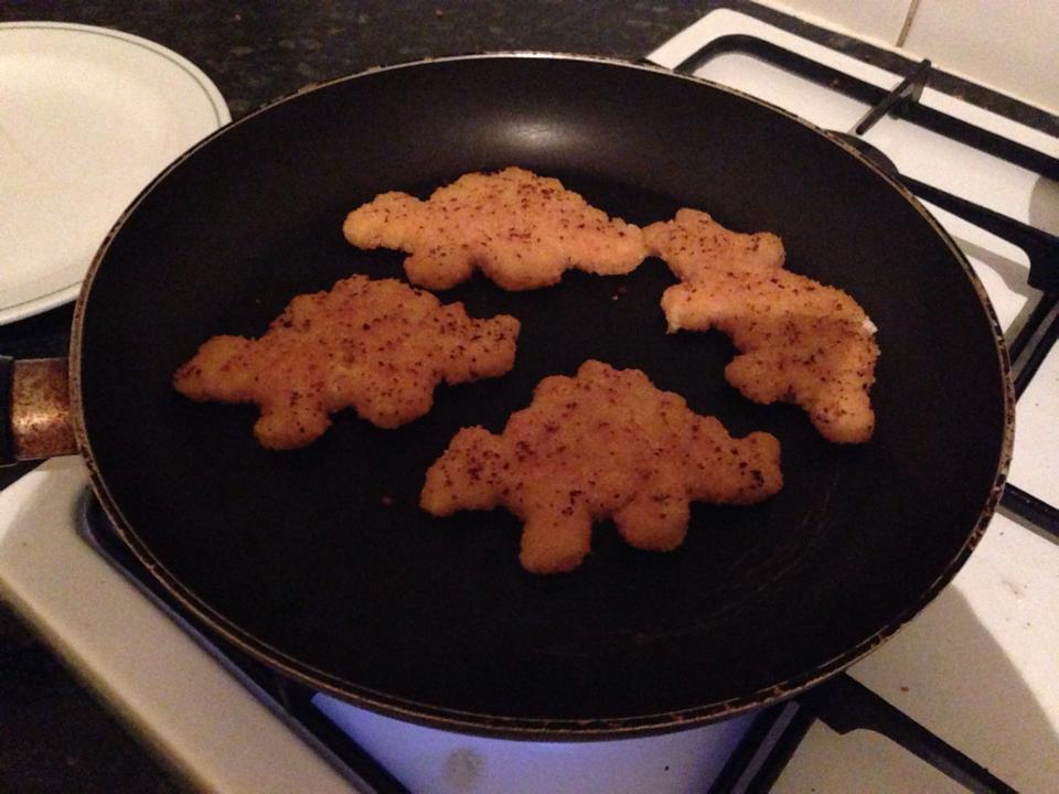 恐竜チキンフライ