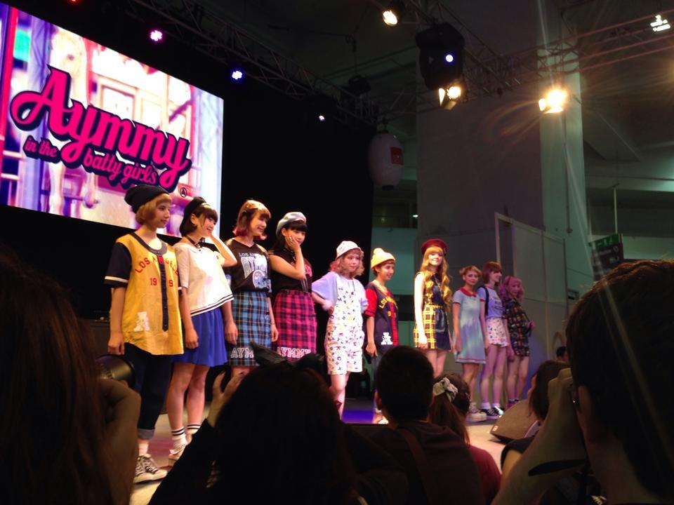 「KAWAII」をテーマにしたファッションショー