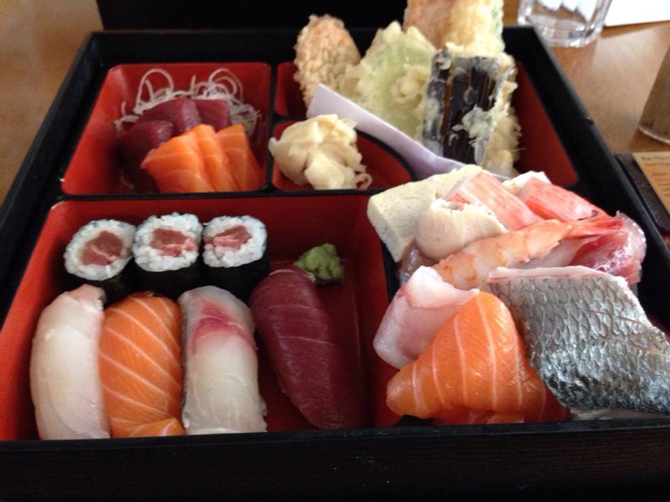 Eat Tokyoで食べた寿司弁当