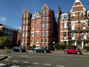ロンドンの住宅街の写真