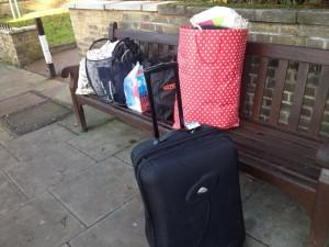 引越の荷物