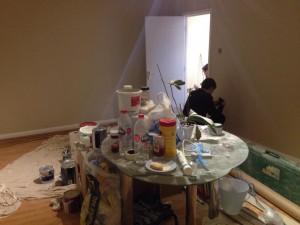 工事中の我が部屋。。