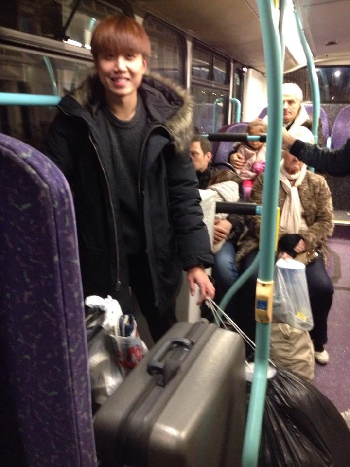 バスで引っ越し