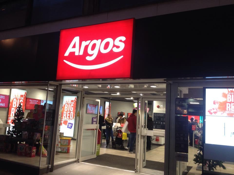 Argosの外観