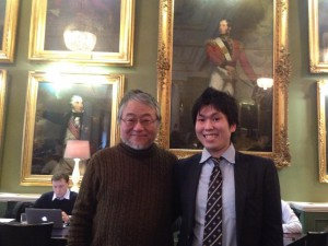 ロンドンでつぶやいたろうで有名なジャーナリスト木村正人さん
