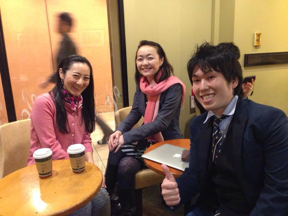 ルーム・トゥ・リードジャパンの松丸さんと今尾さんと