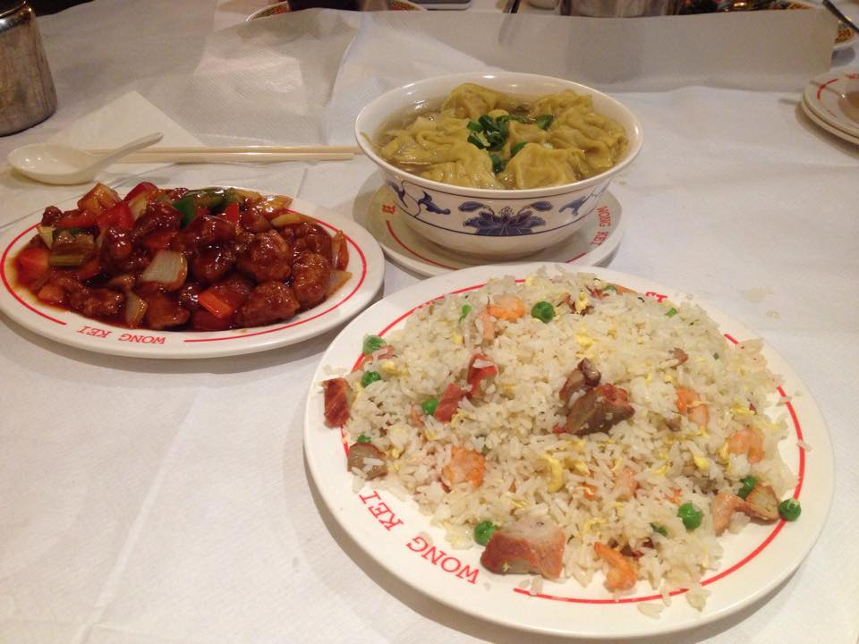 安くておいしい中華街のディナー