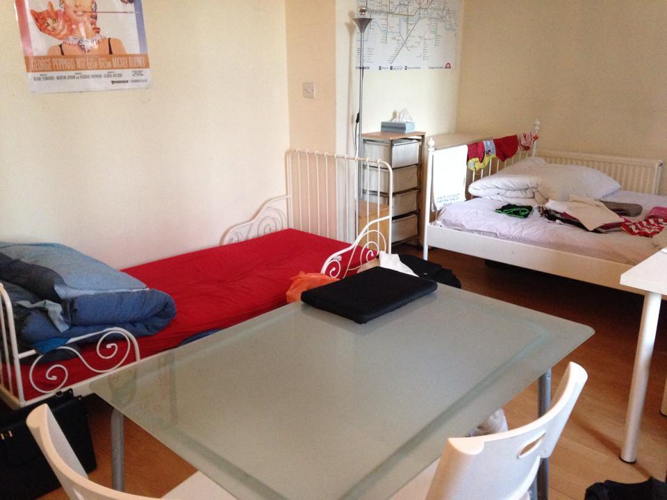 一番長く住んだ月額477ポンドの部屋