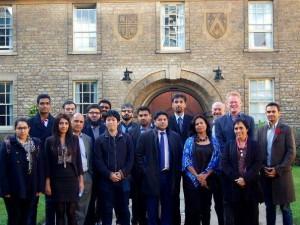 オックスフォードでカンファレンスに参加した時の写真