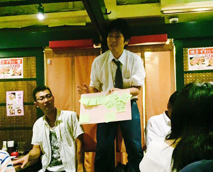 渋谷で行われたイベントにて