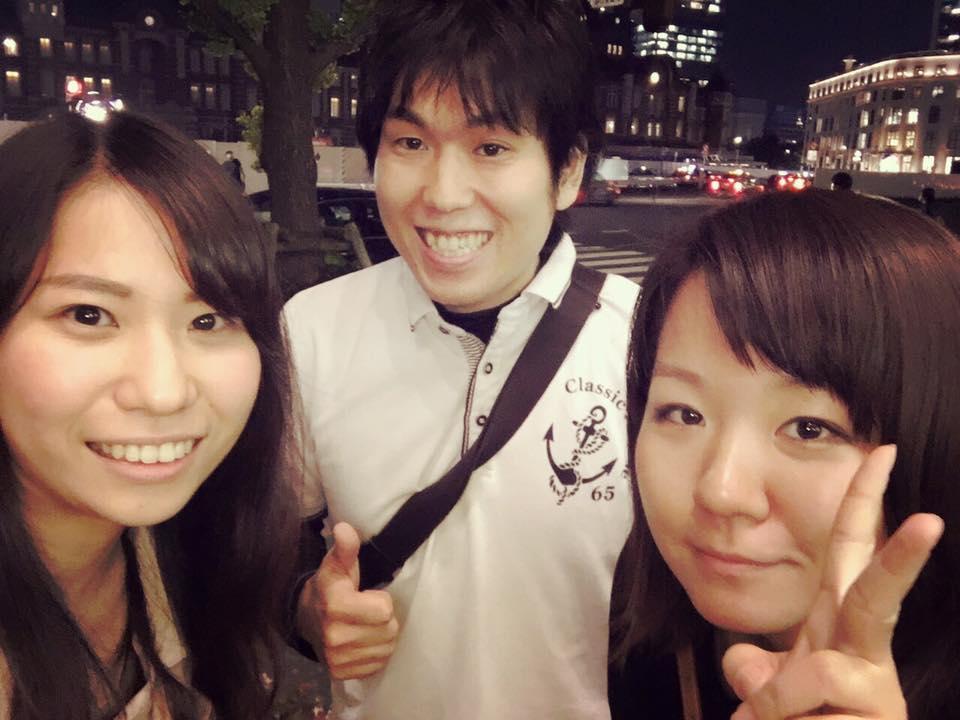 一緒に留学エージェントをしていた笠井さんとその時の留学生の愛ちゃん